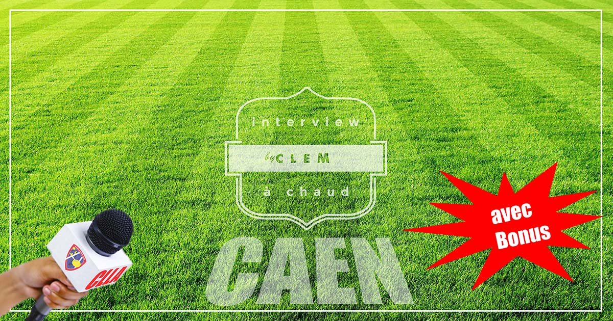 Interviews matchs contre Caen