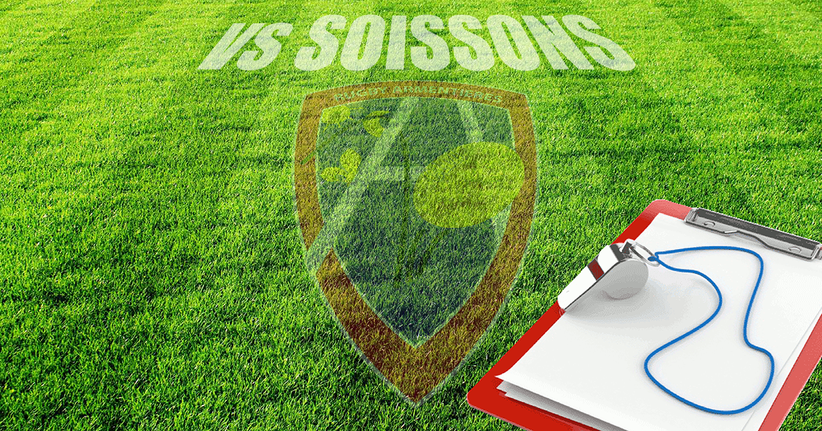 Composition Equipe VS Soissons